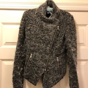 Whistles grey jacket. Size 2. EUC.
